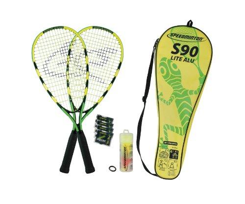 Speedminton S90 Set de Badminton Vert//Jaune