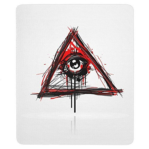 Bloody Illuminati Rectangular Mouse Pad