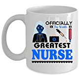 Best i-Custom World Holiday Evers - Best Nurse Ever Coffee Mug, Officially The World's Review