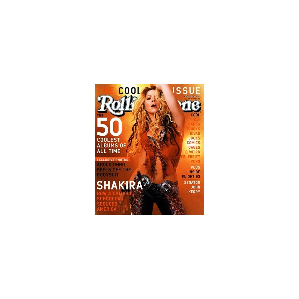 Shakira, 2002 Rolling Stone Cover Poster by Martin