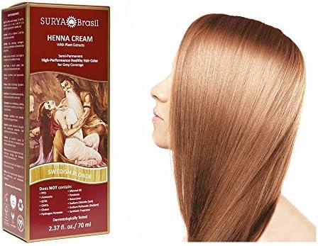 Henna Hair Cream - Swedish Blonde - 70ml