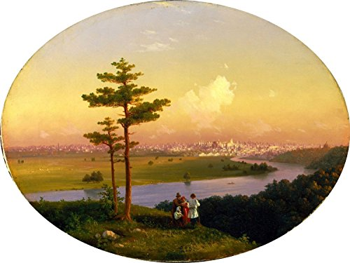 - View of Moscow from Sparrow Hills by Ivan Aivazovsky Mural Kitchen Bathroom Wall Backsplash Behind Stove Range Sink Splashback One Tile 10