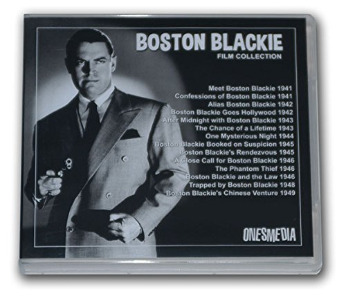 BOSTON BLACKIE FILM COLLECTION - 14 MOVIES - 7 DVD-R