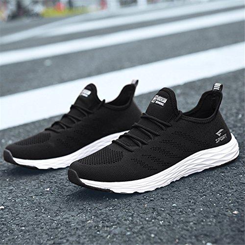 Running Course Baskets Noir Casual Chaussures De Sneakers Sport Femme Homme qBwtYB