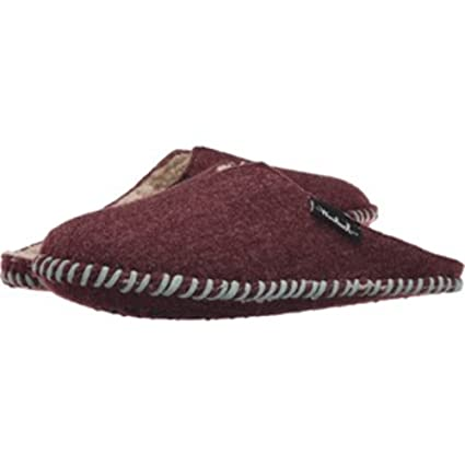 9a3af2390 Amazon.com: Woolrich Women's Felt Mill Scuff Mule Slipper: Home ...