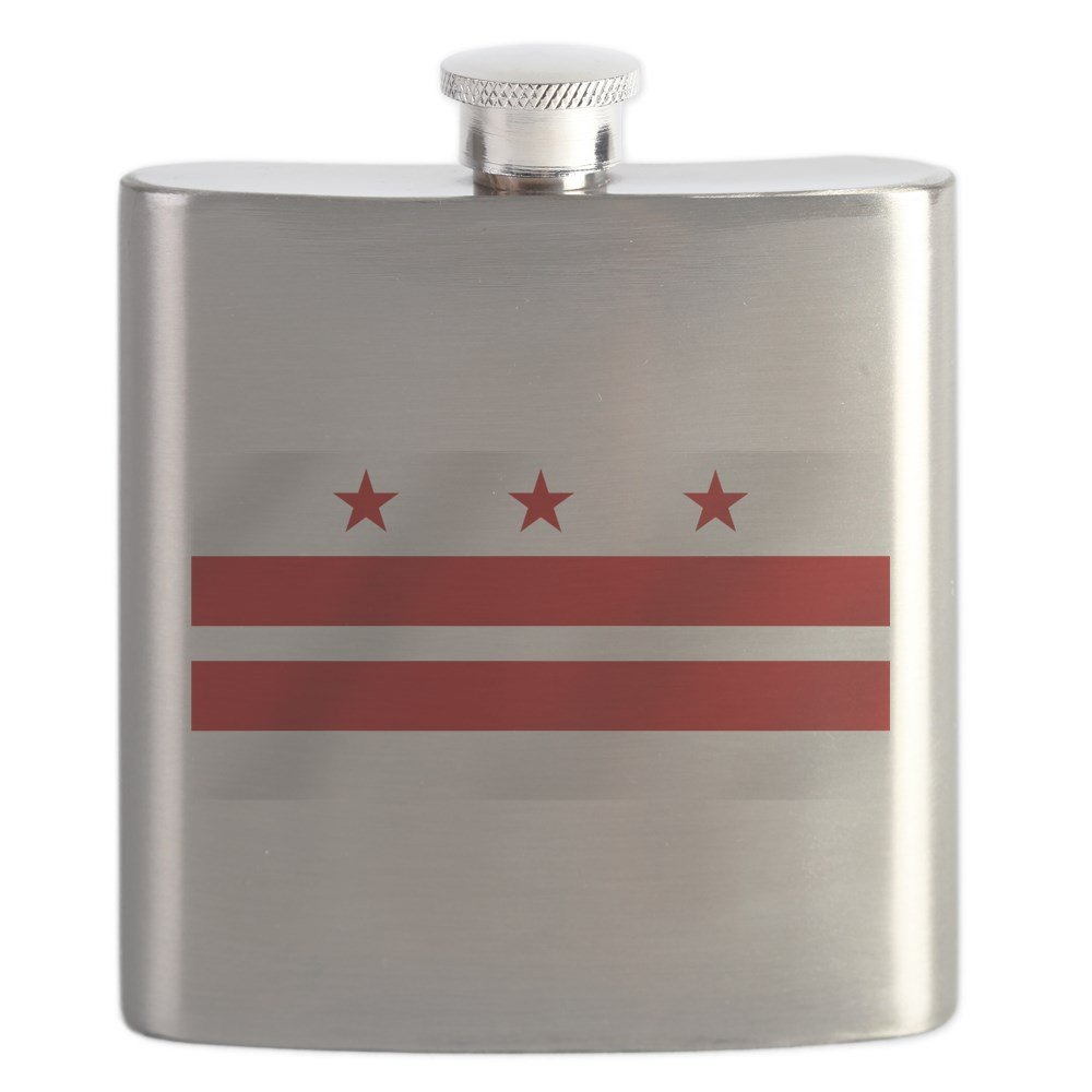 開店記念セール! CafePress Steel - Washington DC Flag - Stainless - CafePress Steel Flask, 6oz Drinking Flask by CafePress B01IUFA62I, PedraMercado:91c17ff9 --- a0267596.xsph.ru