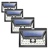 Solar Lights Outdoor – Solar Motion Sensor Light – Wall Light 24 LED – Wireless Waterproof Solar Powered LED Lights Outdoor with Wide Angle Illumination – Night Security LED Patio Lights (4 Uprade) Review