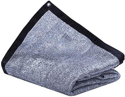 JTsuncover Aluminet 85 Heavy Duty Shade Cloth Mesh Sun Block Fabric Sun Reflect Pet Shade with Grommets10 ft x 10 ft