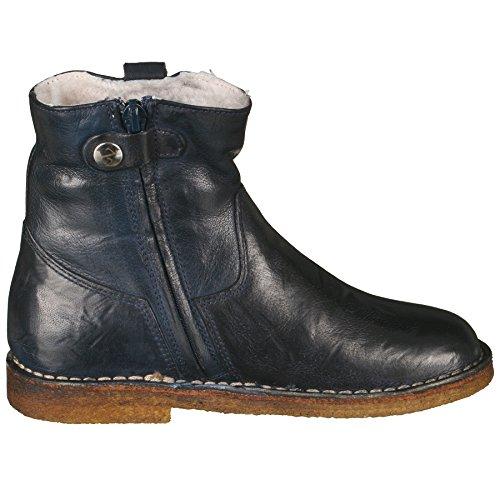 Zecchino dOro A06-4669 Stiefel Boots Stiefeletten mit Herzen Blau (bleu 2 BL)