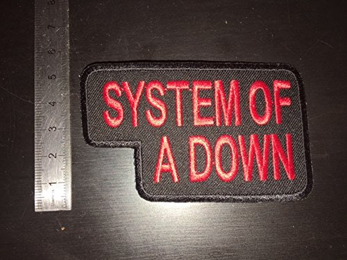 SYSTEM OF A DOWN THERMOCOLLANT ECUSSON PATCHES AUFNAHER TOPPA