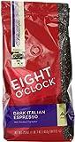 Eight O'Clock Dark Italian Espresso Ground Coffee, 23 Ounce