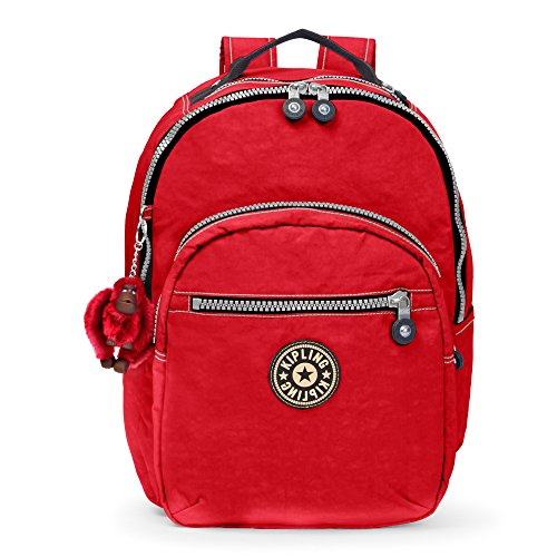 Kipling Women's Seoul Large Vintage Laptop Backpack One Size Reds by Kipling