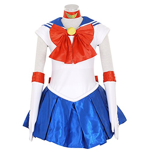 Sailor Moon Uranus Costume (CG Costume Women's Sailor Moon Tsukino Usagi Dress Cosplay Costume XSmall)