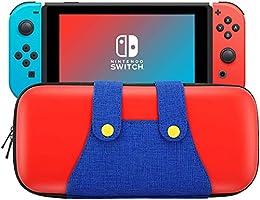 ODLICNO Estuche de Viaje para Nintendo Switch Hard Shell con Bolsa Protectora de Almacenamiento para Nintendo Switch