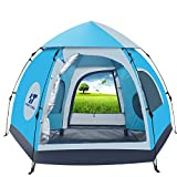 OHOJIDA Waterproof Automatic 5-6 People Outdoor Instant Popup Tent Camping Hiking Canopy