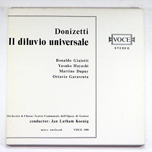 (Donizetti: Il Diluvio Universale / Orchestra & Chorus Teatro Communale dell'Opera di Genova, Jan Latham Koening )