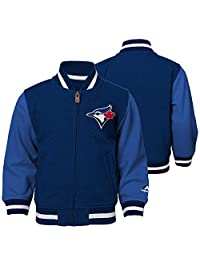 Toronto Blue Jays Preschool Baseball Full-Zip Varsity Jacket