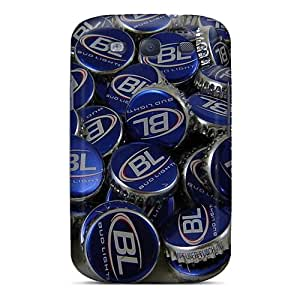 Protector Hard Phone Case For Samsung Galaxy S3 (TIA2493Ovsj) Allow Personal Design High-definition Bud Light Pattern