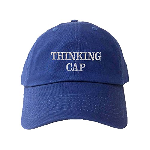 Adjustable Royal Adult Thinking Cap Embroidered Dad Hat -