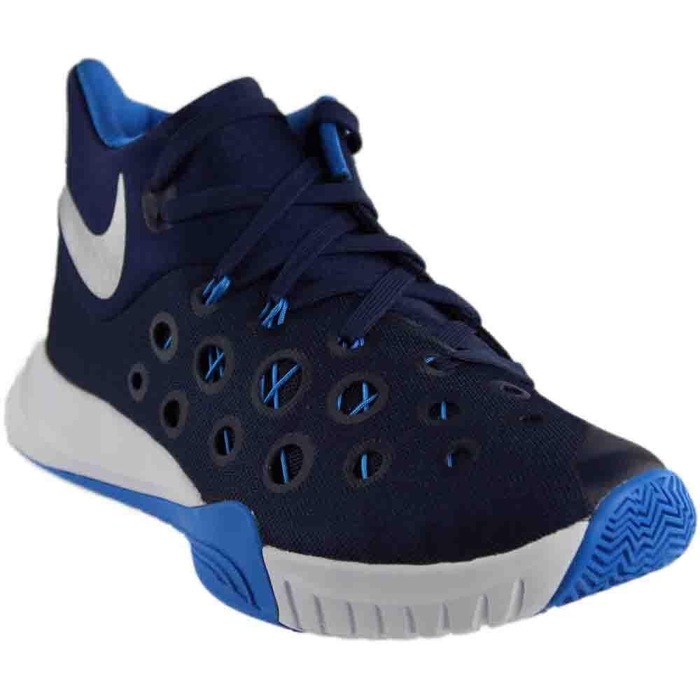 Nike Zoom Hyperquickness Basketball schuhe (Navy, 11 D(M) US)