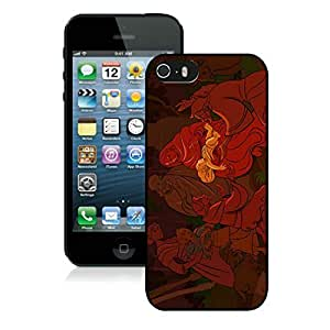 Popular Design Iphone 5S Protective Case Merry Christmas iPhone 5 5S TPU Case 61 Black