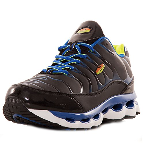 nbsp;Herren Toocool Sportschuhe – Fitnessstudio Schwarz Sport nbsp;9152 Air Fitness Running Sneakers Blau HHwCErUq