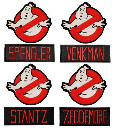 Los Cazafantasmas Nombre Etiquetas Y No Ghost Logo Insignia