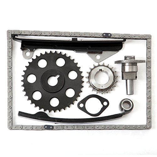 SCITOO Timing Chain Kit fits for 1989 1990 Nissan Pulsar NX 1.6L 1597CC 97Cu. in. l4 Gas SOHC Naturally Aspirated