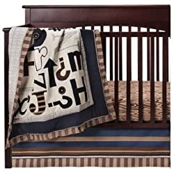 4-Piece Skyler Alphabet Crib Bedding Set by CoCaLo