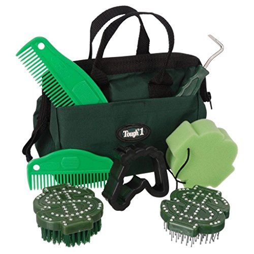 Crystal Dollar Sign (Tough-1 Grooming 8 Piece Crystal Dollar Signs Kit Green 90-23302)