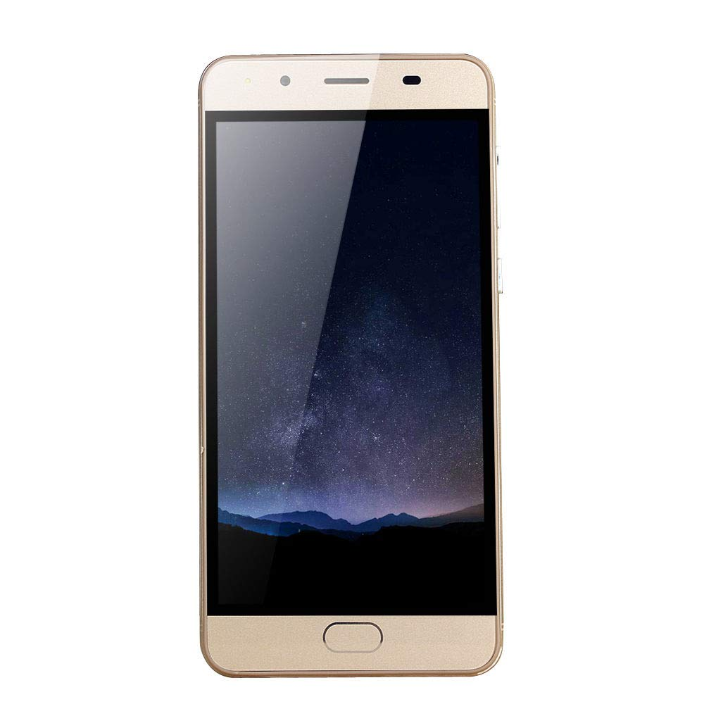 GSM WiFi Dual Smartphone,Sunsee 5.0''Ultrathin Android 5.1Quad-Core 512MB+512MB (Product Size: 14471.88.8mm, Gold)