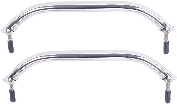 12 Whitecap S-7091P Stainless Steel Studded Handrail