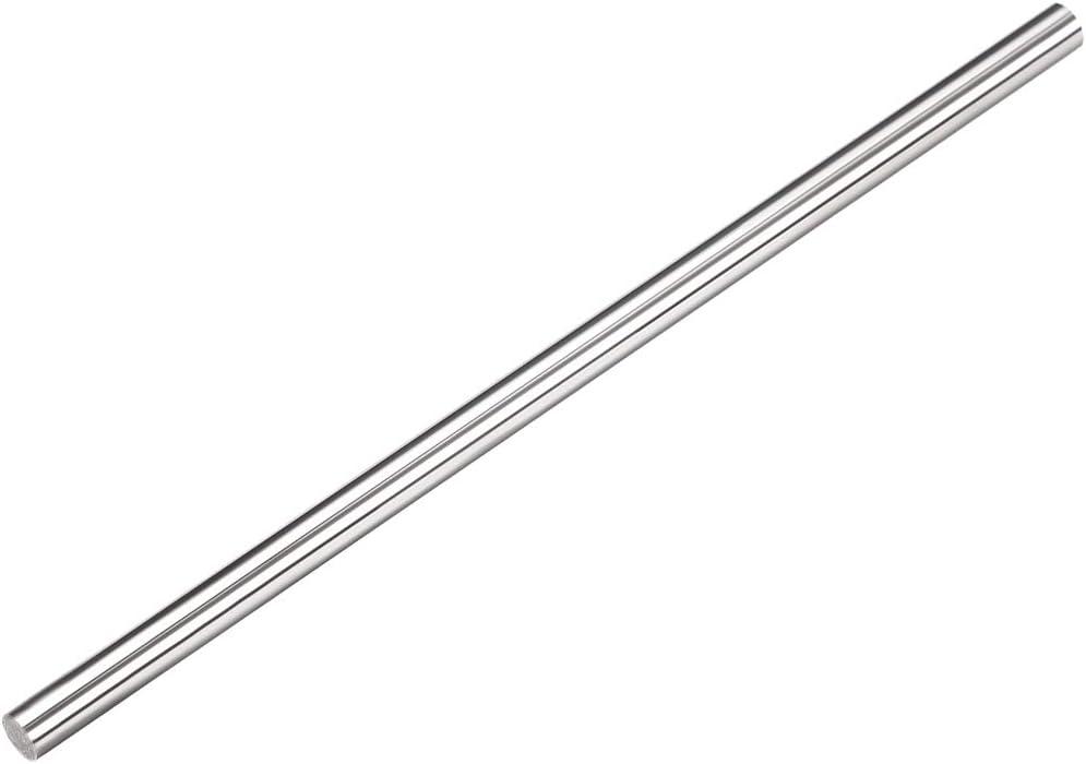 sourcing map K10 Varilla redonda de eje s/ólido de torno de acero de tungsteno Barra de 3.5mm de di/ámetro 100 mm de longitud