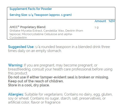 Source Naturals AHCC Powder, 2-Ounce