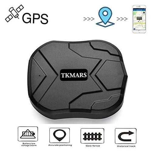 chollos oferta descuentos barato Hangang GPS Tracker localizador GPS en tiempo real Localizador SMS Online 5000 mAh 90 días Standby magnético impermeable dispositivo Crawler traccia Manual App gratuita GPS Tracker