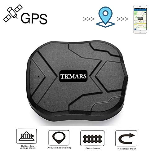 TKMARS GPS Tracker for Vehicles Waterproof Real-Time Anti-theft tracker 90-Days standby with strong Magnet