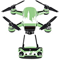 Skin for DJI Spark Mini Drone Combo - London| MightySkins Protective, Durable, and Unique Vinyl Decal wrap cover | Easy To Apply, Remove, and Change Styles | Made in the USA