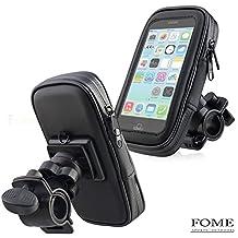 Waterproof Bike Mount, FOME Universal Case Bike Mount Holder Water, Sand, Dirt Resistant Waterproof Case Bike Mount Phone Holder + FOME GIFT