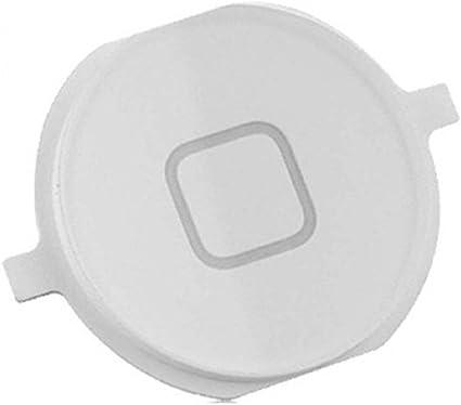 REY Botón Home Menú para iPhone 4 y 4S, Repuesto en Color ...