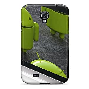 Durable Protector Case Cover With Android Hot Design For Galaxy S4