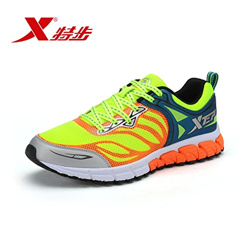 XTEP Mens Sports Shoes Athletic Running Shoes (Green) - 3