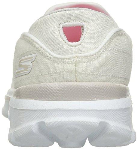 Skechers Gowalk 3 Rivera - Zapatillas Mujer White