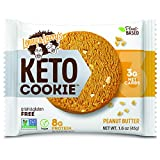 Lenny & Larry's Keto Cookie, Peanut Butter, 1.6 oz (Pack of 12) Low Carb, Soft Baked