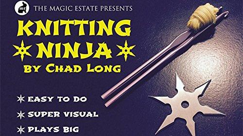 Amazon.com: Knitting Ninja (Props y) por Chad de largo: Toys ...