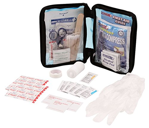 (Rapid Care First Aid 80060-SP-102 All Purpose First Aid Kit, Soft Case with Zipper, 102 Pieces)