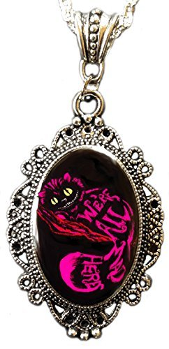 Alkemie & Artistry Cheshire Cameo Necklace (Cat Jewelry Cheshire)