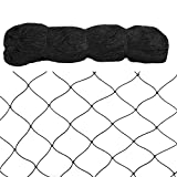 25 Foot x 50 Foot Garden Bird Netting,1'' Mesh Size Garden Vegetable Plants Netting,4 Braided Heavy Duty UV-Proof Nylon Multifilament Netting,Keeps Birds and Animals Away