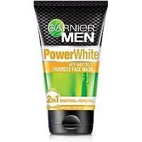 Garnier Men Power White Anti-Dark Cells Fairness Face Wash, 100g