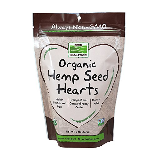 NOW Foods Organic Hearts 8 Ounce