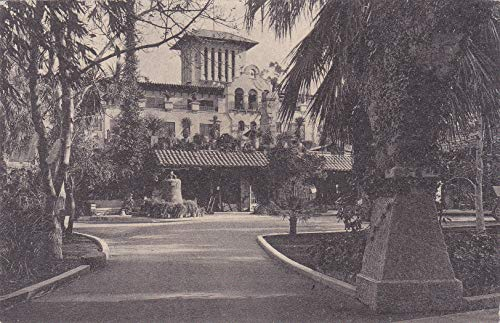 (159VINT02 1917 GLENWOOD MISSION INN, RIVERSIDE CALIFORNIA IN 1917 POSTCARD COLLECTIBLE POSTCARD VINTAGE ANTIQUE from HIBISCUS EXPRESS)